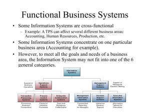 Functional Business Systems (7)