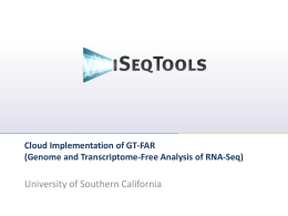 Genome and Transcriptome-Free Analysis of RNA-Seq