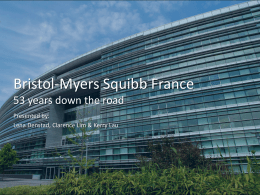 Bristol-Myers Squibb France 2009