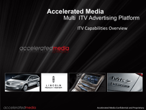 Accelerated Media Multi Platform ITV Sales Deck Q4 2010 11.9.10