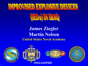 IEDs in Iraq (11MB PowerPoint)