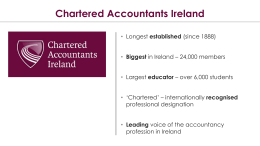 Dr. Louise - Chartered Accountants Ireland