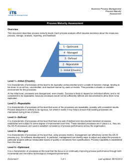Process Improvement Recommendations Template - Process improvement document template