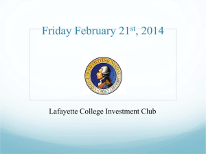 FridayFebruary21stMeeting - Sites at Lafayette