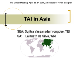 TAI--Asia - The Access Initiative