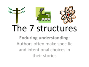 7 structuralist elements The 7 structures