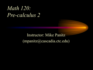 Pre Calc Students Faculty Access For The Web