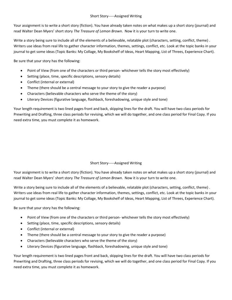 the treasure of lemon brown story summary