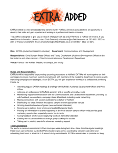 nuffieldtheatre.co.uk Application Form