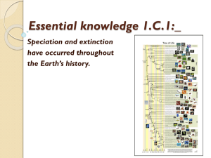 Essential knowledge 1.C.1