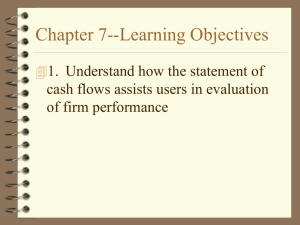 Chapter 7--Learning Objectives