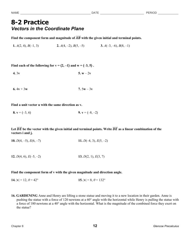 8-2 Practice WS