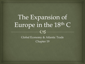 The Expansion of Europe in the 18th C