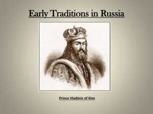 Early Traditions in Russia