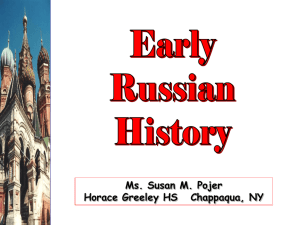 Early Russia - AP World History