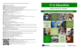 EU –Projects on IT in Education with the ViS:AT as