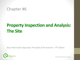 Basic Real Estate Appraisal, 9e e_PowerPoint - Ch 06