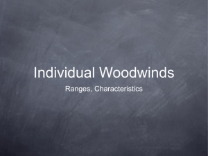 Individual Woodwinds
