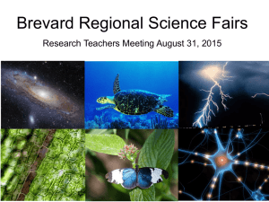 PowerPoint - State Science and Engineering Fair of Florida