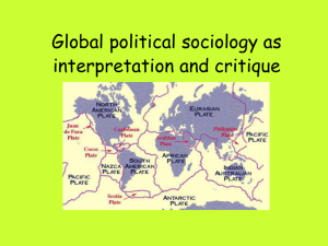 Global political sociology as interpretation and critique