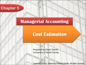 Managerial Accounting Chapter 4