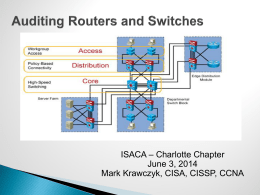 Router/Switch Security
