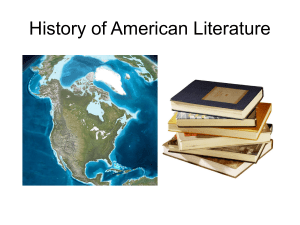 American History Powerpoint