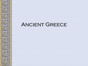 Regents Review - Ancient Greece