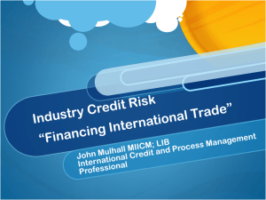 International Credit Risk
