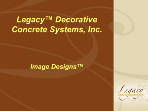 Image Designs - Legacy Decorative Concrete