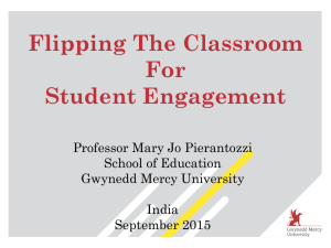 Faculty PPT - Mary Jo Pierantozzi Gwynedd Mercy University