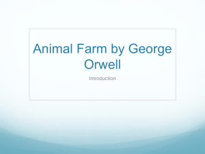 intro to animal farm no media