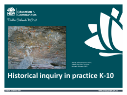 Historical Inquiry PowerPoint