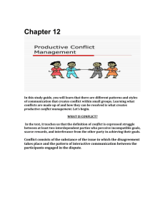 Chapter 12 study guiderevision - HUC112