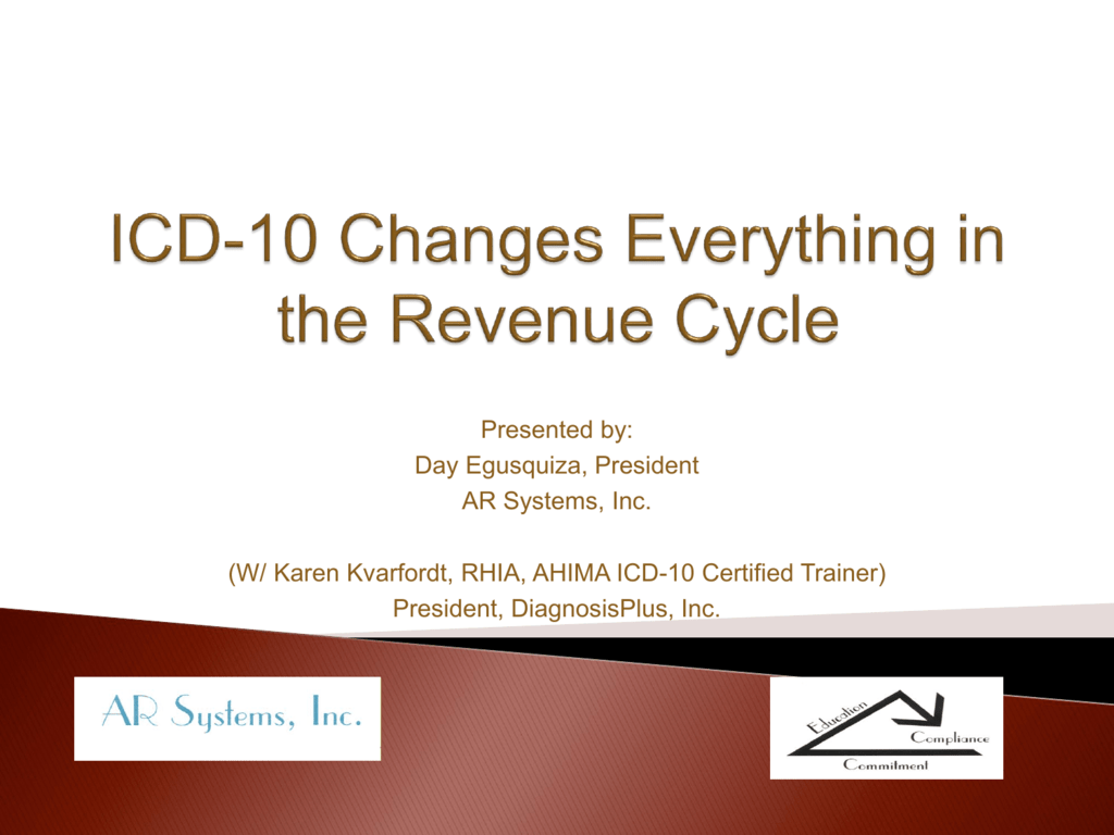 Preparing For Icd 10