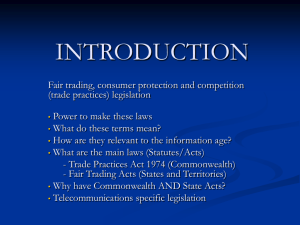INTRODUCTION - Cyberspace Law and Policy Centre