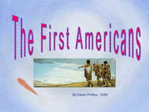First Americans 2