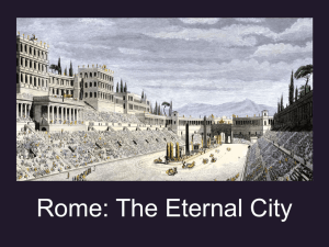 Roedell.EarlyRome.MiniLesson - WLPCS Middle School