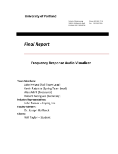 Final Report v0.95 - UP Wordpress | | UP Wordpress