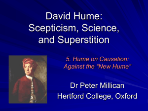 Humes Old and New: Cartesian Fellow