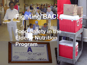 Fighting BAC! - Food Safety Site