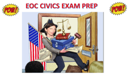 eoc civics exam prep required