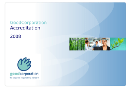 'working with' GoodCorporation logo