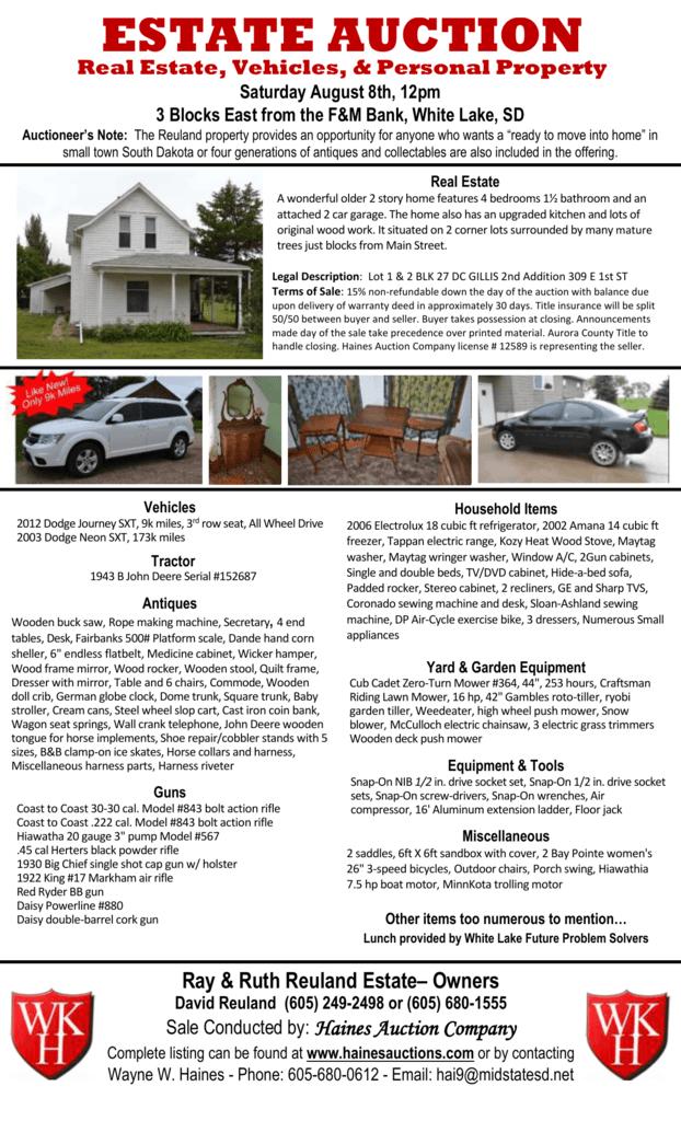 doc - Haines Auction