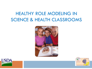 Nutrition Ed in Science/Health