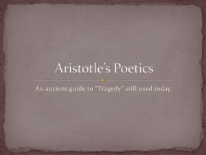 Aristotle's Poetics - Fort Thomas Independent Schools