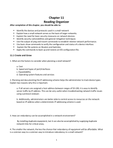 Chapter 11 - Reading Organizer