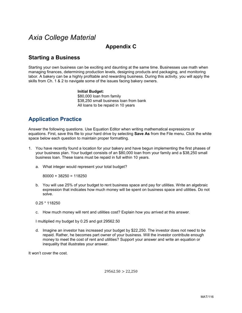 Pay to do algebra business plan good customer service experience essay