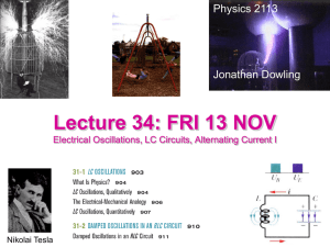 Lecture 27: FRI 20 MAR - LSU Physics & Astronomy