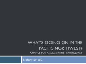 What's Going on in the Pacific Northwest?